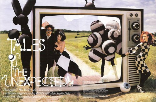 Vogue UK: Tales of the Unexpected