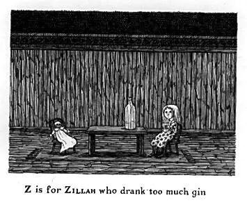 Edward Gorey's Gashlycrumb Tinies