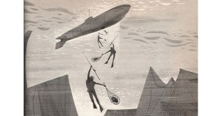 The Man Who Invented the Future: Stunning Mid-Century Illustrations of Jules Verne's Visionary Imaginings
