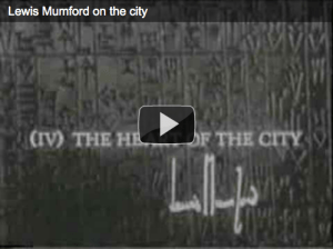 Lewis Mumford on the City: Rare Footage from 1963
