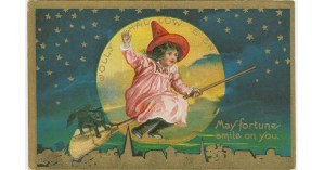 Vintage Halloween: Haunted Postcards from the Early 1900s