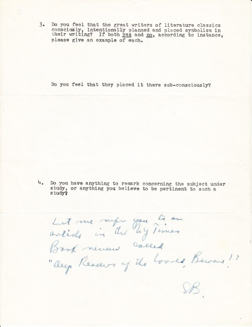 From Jack Kerouac To Ayn Rand Iconic Writers On Symbolism 1963