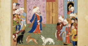 The Life of Rumi in Rare Islamic Manuscript Paintings from the 1590s