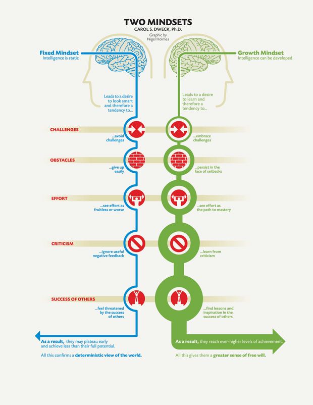 A Growth Mindset Could Buffer Kids From >> Fixed Vs Growth The Two Basic Mindsets That Shape Our Lives