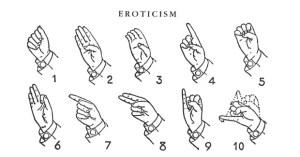 The Surrealist Chart of Erotic Hand Signaling