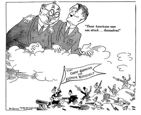 Dr. Seuss's World War II Political Propaganda Cartoons ...