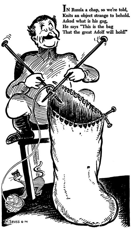 Dr  Seuss's World War II Political Propaganda Cartoons