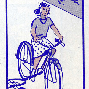 An Illustrated Vintage Bicycle Safety Manual circa 1969