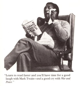 How to Read Faster: Bill Cosby's Three Proven Strategies
