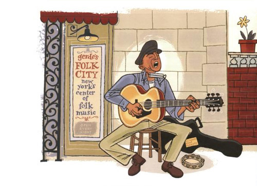 """Bob Dylan's 1974 Classic """"Forever Young,"""" Illustrated"""