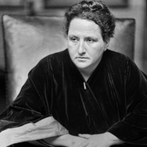 "Gertrude Stein Reads ""A Valentine to Sherwood Anderson"""