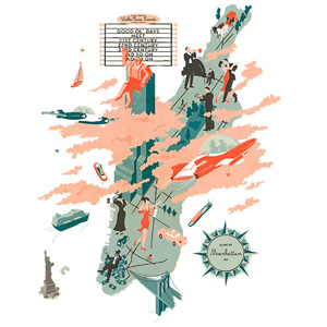 Illustrators and Visual Storytellers Map the World