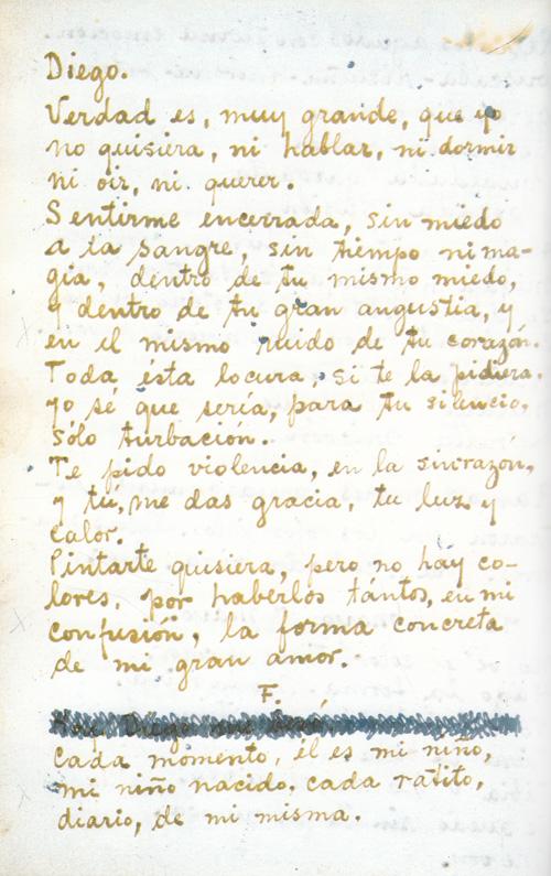 Love letter spanish translation