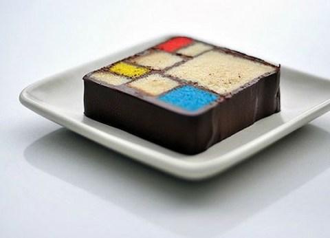 Mondrian cake ...