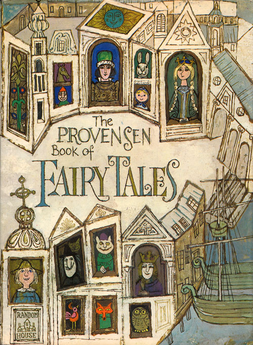 Alice and Martin Provensen's Stunning Vintage Illustrations for Twelve Classic Fairy Tales