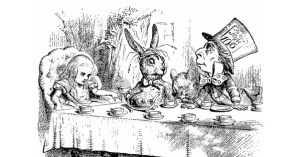 The Alice in Wonderland Cookbook and Lewis Carroll's Guide to Dining Etiquette