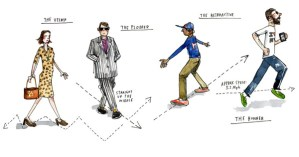 The Four Types of Jaywalkers: An Illustrated Morphology of Bad Pedestrians circa 1924