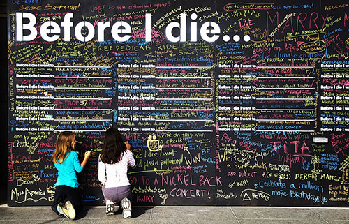 Before I Die: A Global Ethnography of Anonymous Aspirations in Chalk
