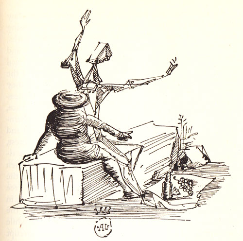 Salvador Dali Don Quixote