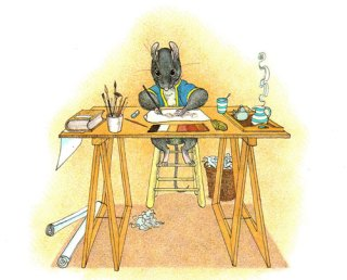 Need a House, Call Ms. Mouse: Progressive Vintage Children's Book Starring a Female Architect