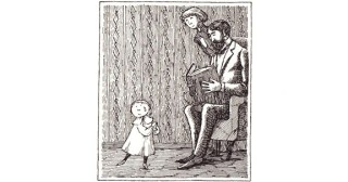 The Pious Infant: Edward Gorey's Rare Illustrated Allegory about the Dangers of Dogmatism