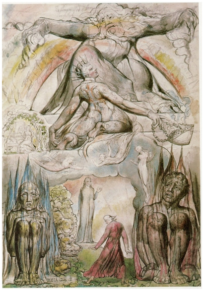 William Blake S Breathtaking Drawings For Dante S Divine Comedy Over Which He Labored Until His Dying Day Brain Pickings