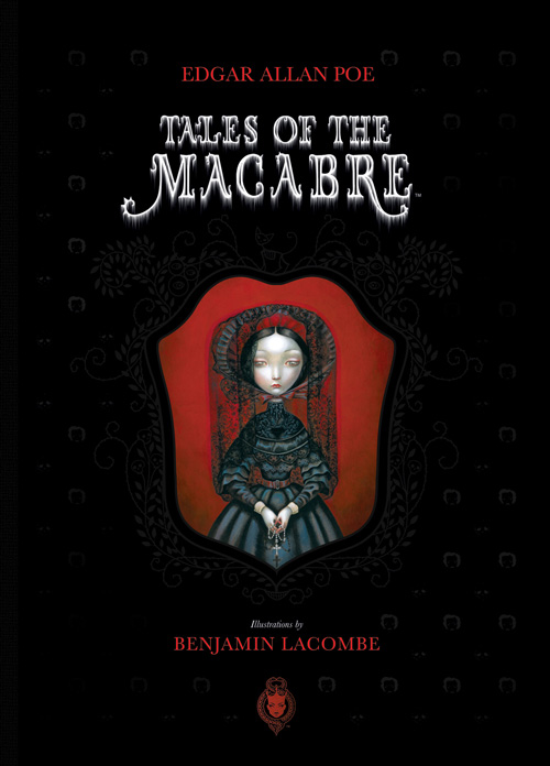 French Artist Benjamin Lacombe's Haunting Illustrations for Poe's Tales of the Macabre