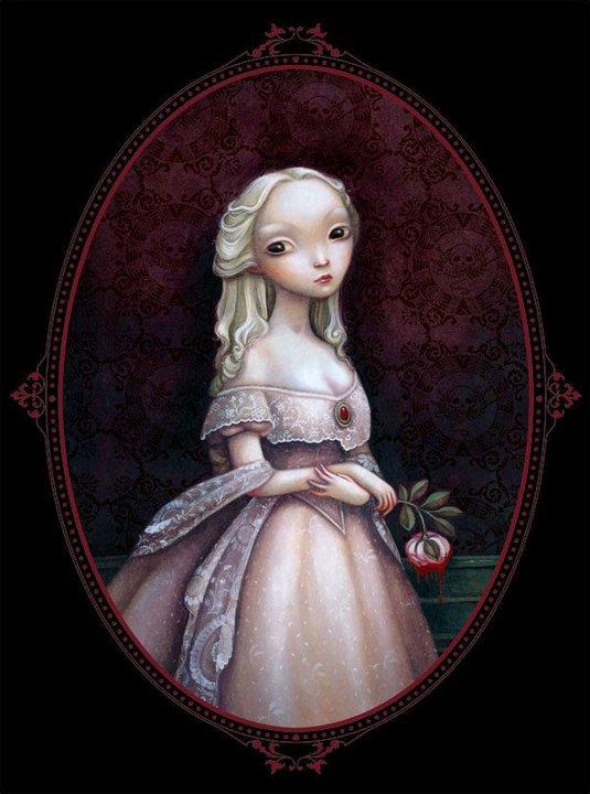 Ilustración para la adaptación de la obra de Edgar Allan Poe