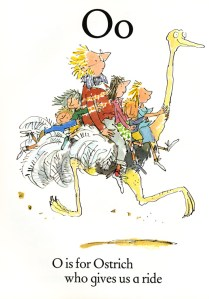 Sir Quentin Blake's Quirky Illustrated Alphabet Book