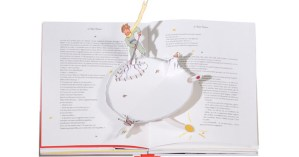 The Little Prince as a Pop-Up Book