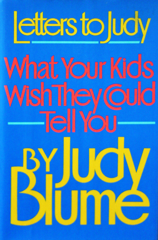 Children's Endearing Letters to Judy Blume About Masturbation, and the Beloved Author's Response