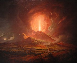 Young Hans Christian Andersen Climbs Mount Vesuvius During an Eruption and Lives to Tell About It in a Beautiful, Dramatic Account