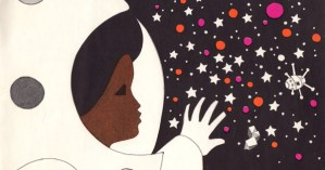 Visionary Vintage Children's Book Celebrates Gender Equality, Ethnic Diversity, and Space Exploration