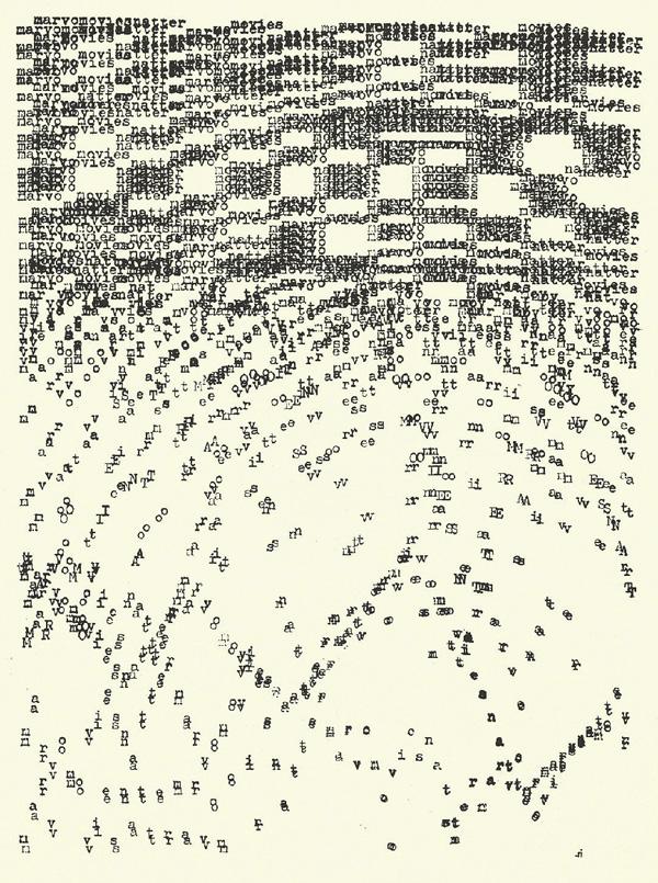 Typewriter Artist : typewriter, artist, Visual, History, Typewriter, Today, Brain, Pickings