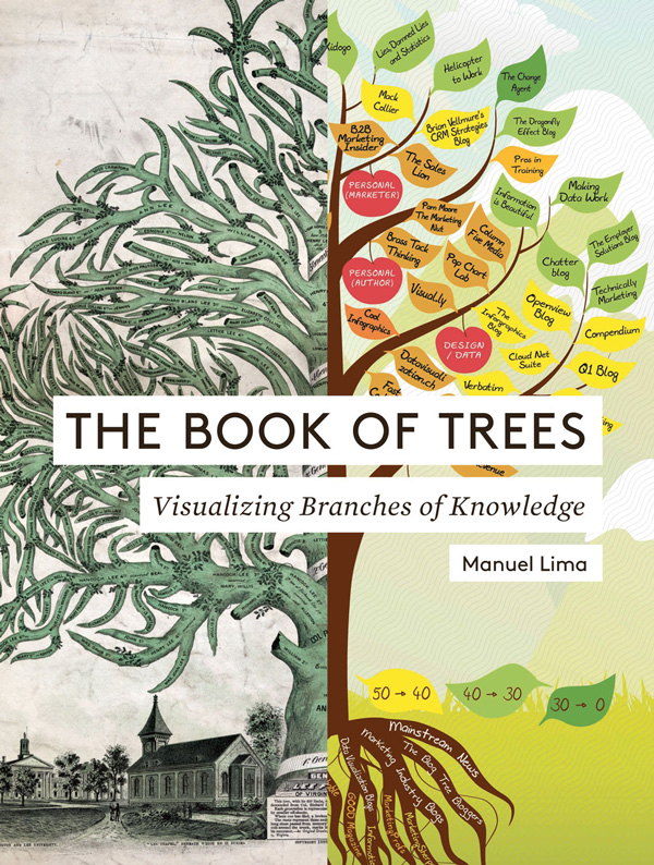 The Book of Trees: 800 Years of Symbolic Diagrams Visualizing Human Knowledge