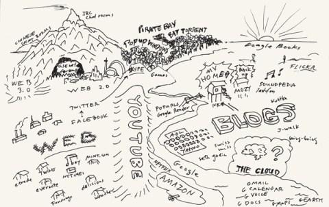 An Atlas of Alternative Maps by Tim Berners-Lee, Ed Ruscha