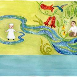 Извонредниот живот на Пабло Неруда доловен преку илустрации...