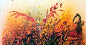 Ralph Steadman's Rare and Rapturous Illustrations for Ray Bradbury's <em>Fahrenheit 451</em>