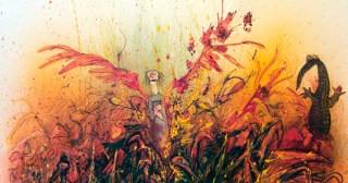 Ralph Steadman's Rare and Rapturous Illustrations for Ray Bradbury's <em>Fahrenheit 451</em>