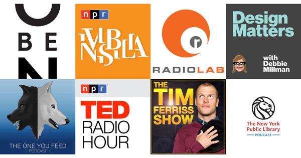 Nine Podcasts for a Fuller Life | Brain Pickings