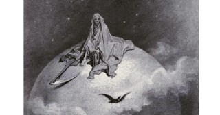 "Gustave Doré's Hauntingly Beautiful 1883 Illustrations for Edgar Allan Poe's ""The Raven"""