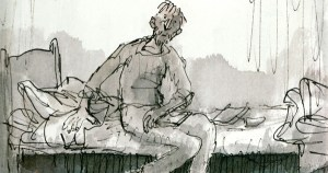 Michael Rosen's Sad Book: A Beautiful Anatomy of Loss, Illustrated by Quentin Blake
