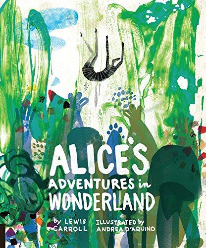Alice's Adventures in Wonderland, Reimagined in Beautiful Illustrations by Artist Andrea D'Aquino