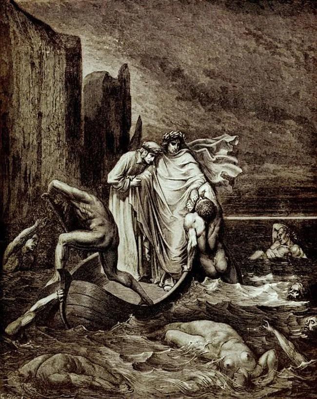 Virgil Dantes Inferno Gustave Doré�...