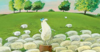 Louis I, King of the Sheep: An Illustrated Parable of How Power Changes Us