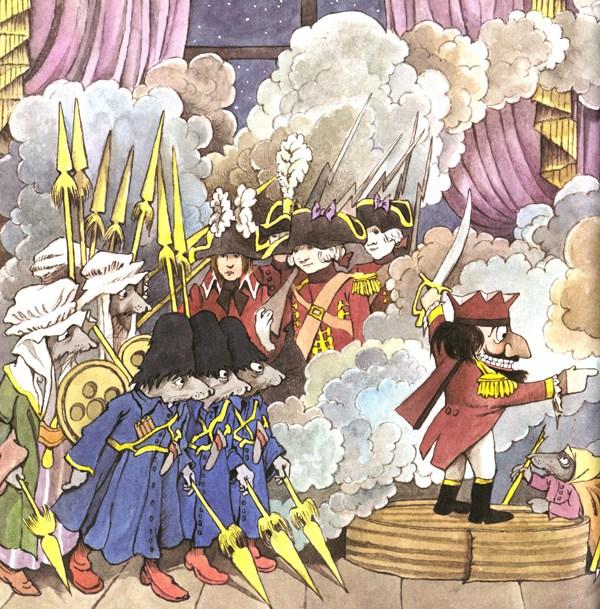 Art from Maurice Sendak's take on Nutcracker