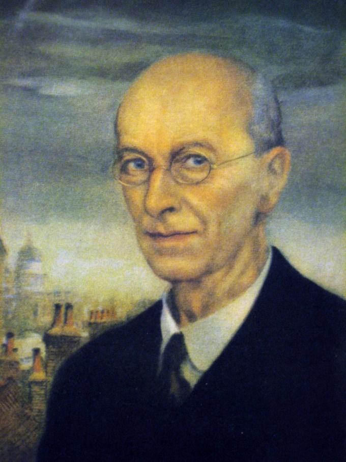 Arthur Rackham, self-portrait, 1934