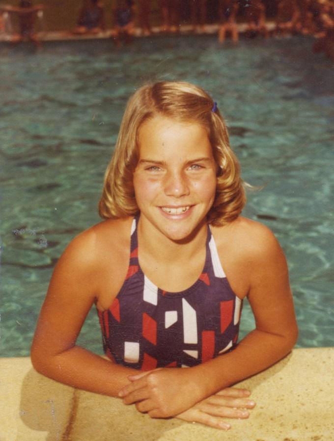 Lisa Congdon as a child