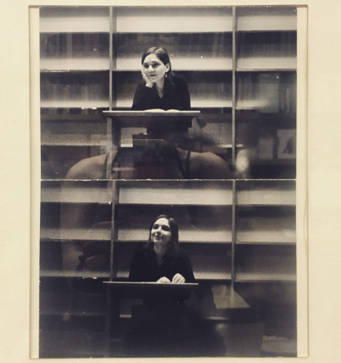 Portrait of Adrienne Rich from the walls of the Academy of American Poets