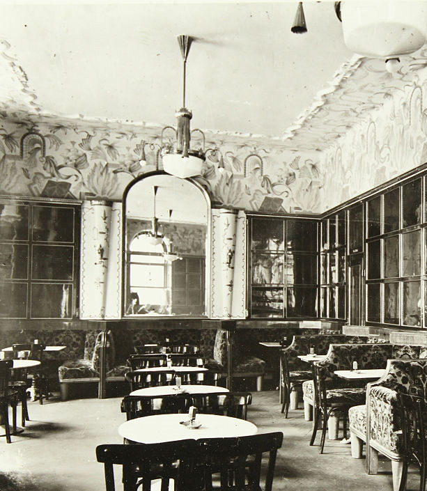 Inside Café Josephinum, the convening place of the Vienna Circle